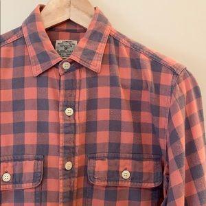 J Crew | Men's Slim Fit Super Soft Flannel Shirt
